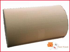 3 x 600mm x 75m CORRUGATED CARDBOARD PAPER ROLLS 225m