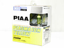 Piaa 2500K 55w=110w Plasma Ion Yellow H11 Halogen Fog Light Bulbs B