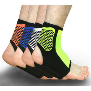 Unisex-Sports-Ankle-Support-socks-Neoprene-Blend-Black-Provides-Compression-Sock