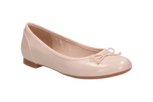 Informal 'couture Zapatos Clarks Bloom' Mujer Charol Bailarina Nude Rosa YSZdqS