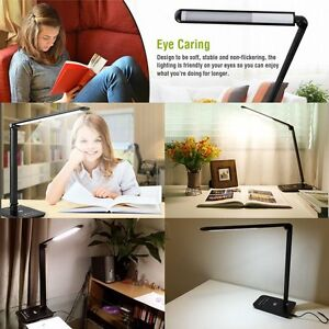 Lampara-de-Escritorio-LED-Regulable-7-niveles-de-Intensidad-Cuidado-a-la-Vista