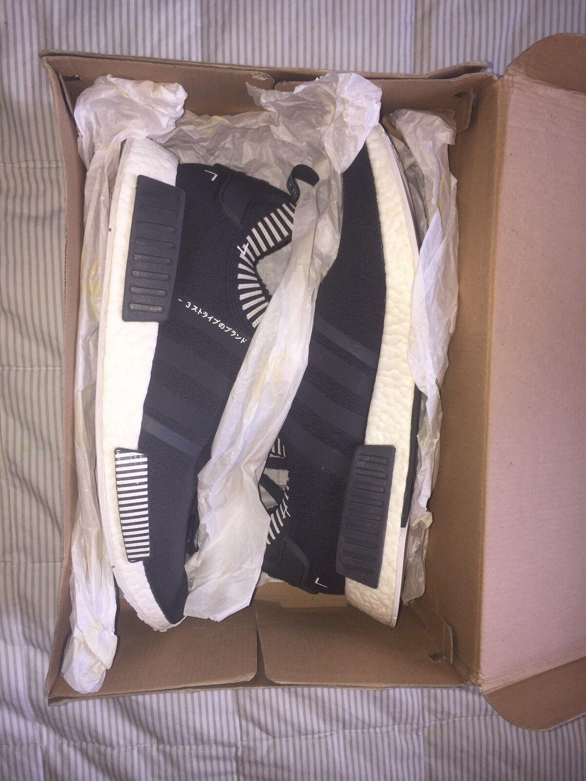 Used: Adidas Originals NMD R1 PK Japan Grey, Mens Size 12.5