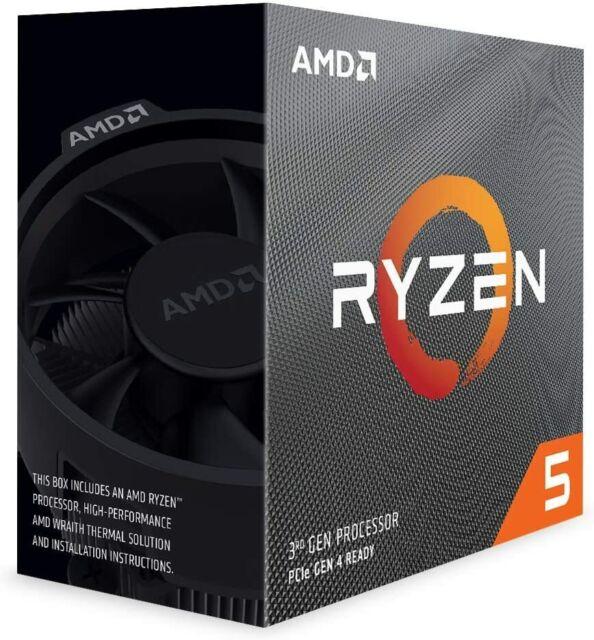 AMD CPU 100-100000031BOX Ryzen 5 3600 6C/12T 4200MHz 36MB 65W AM4 Wraith RETAIL
