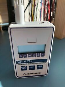 Greisinger GFTB 200 Hygro-/Thermo-/Barometer