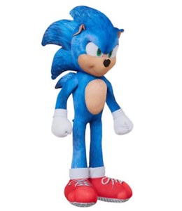 Pre Order Sonic The Hedgehog Movie Sonic Talking 13 Inch Plush New 2020 Ebay