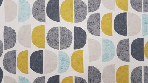 Fryetts Luna Teal Curtain Upholstery Craft Designer Cotton Fabric