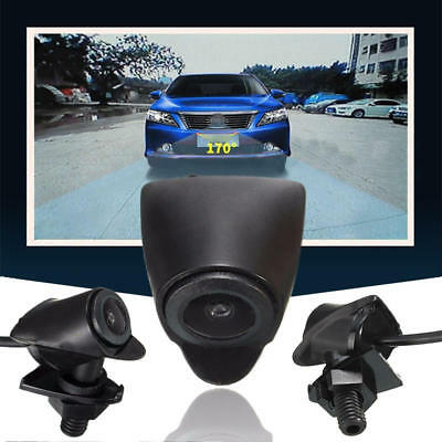 170° Wide Angle CCD Car Front View Camera Waterproof Logo Embedded For Toyota