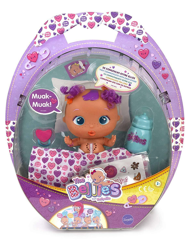 The Bellies - Muak-Muak, muñeco interactivo para niños y niñas niñas niñas de 3 a 8 años f28c24