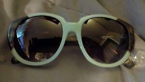 927cb2adff Cynthia Rowley Eyewear 6023S 05 Blue Frame Round Plastic Sunglasses ...