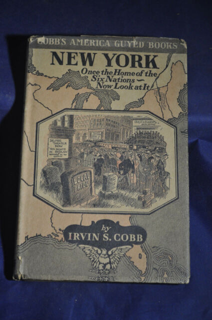 1924 *FIRST*  New York: Once the Home of the Six Nations--Now Look at It