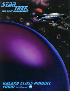 Star Trek Next Generation Pinball silly sound rom chip set Patrick Stewart