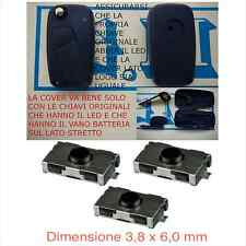 LLAVE CUBIERTA CONTROL REMOTO FIAT STILO IDEA +3 interruptor sin logo