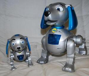 2000 Trendmaster Big Lil Scratch Robotic Dogs Ebay