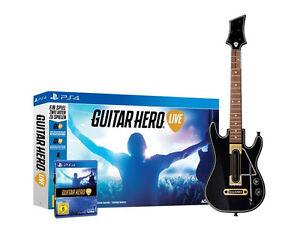 Guitar-Hero-Live-inkl-Gitarre-fuer-Playstation-4-PS4-Bundle-NEUWARE