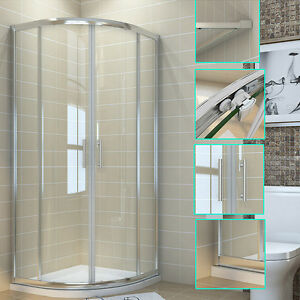 Quadrant-Shower-Cubicle-Enclosure-and-Tray-Walk-In-Corner-Glass-Door-Waste