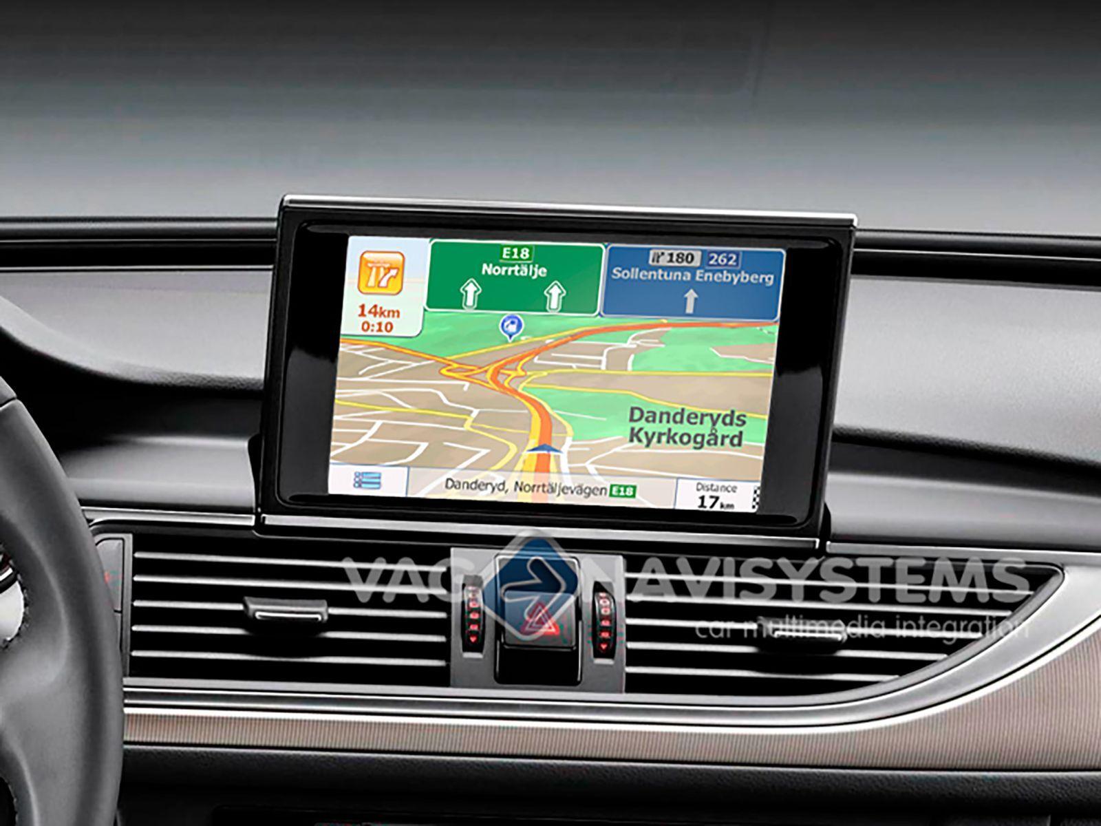 Details about Navigation Audi MMI 3G High/Low 6 5