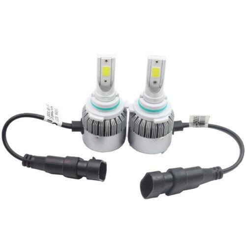 2x LED Headlight Bulb Kit Low Beam White Light For Jeep Grand Cherokee 1999-2010