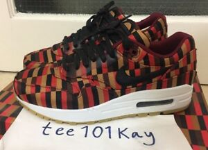 Details about 2013 Nike Air Max 1 Woven SP Jacquard 'Roundel London Underground' UK 5.5 AM1