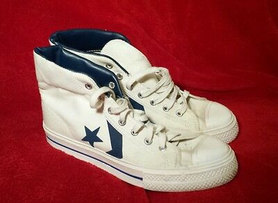 Converse All Star 60's ABA USA Vintage Rare Blue Label MADE IN USA 7