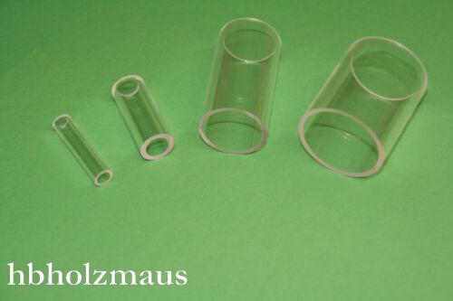 59,99 €//m Acrylglas Rohr Klar Ø 130//120 mm Zuschnitt wählbar