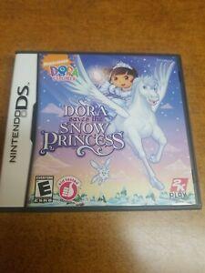 Dora the Explorer: Dora Saves the Snow Princess (Nintendo DS, 2008)(Tested)