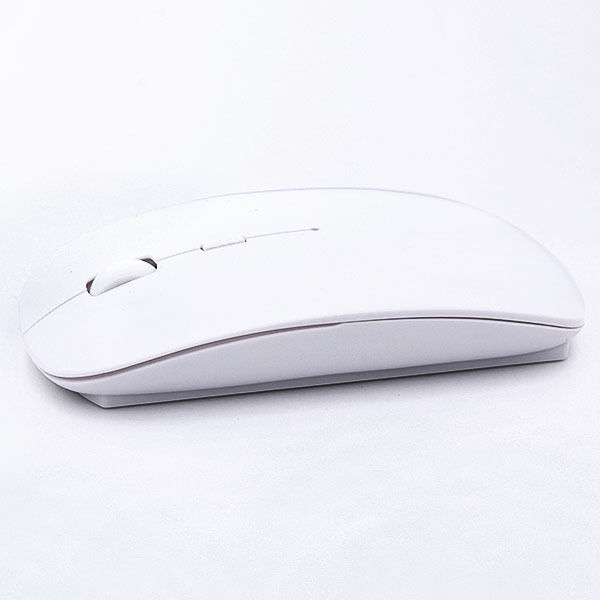 Wireless Optical Smooth Mouse/Mice USB 2.0 Receiver for PC Laptop White 2.4GHz