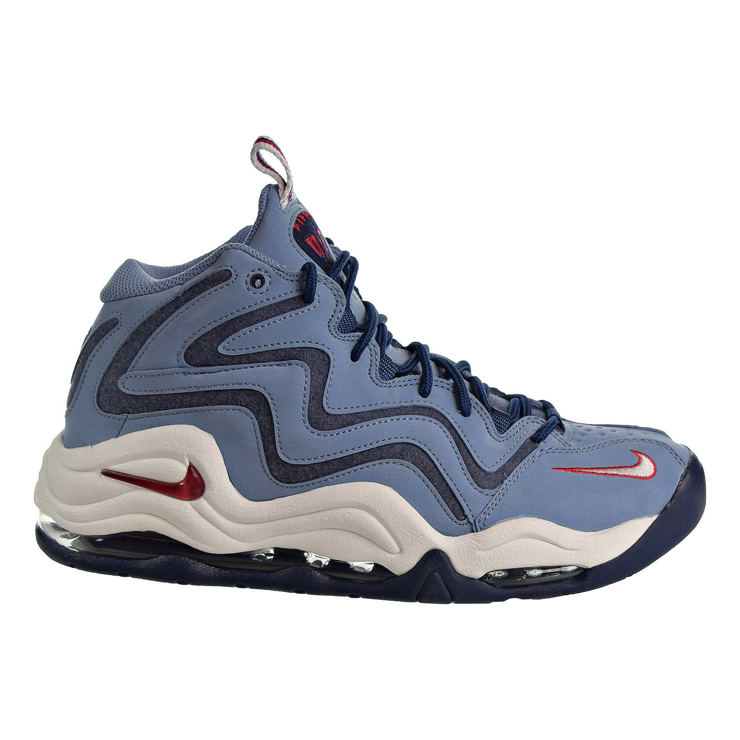 Nike Air Pippen Men's Basketball Shoes Work Blue/University Red 325001-403 Brand discount
