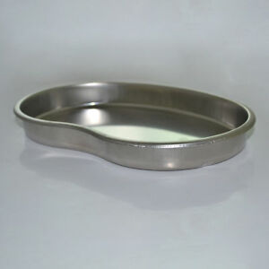 1pcs Medical Kidney Tray Dental Curved Shape Dish Basin Stainless