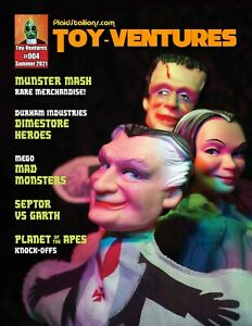 PlaidStallions Toy-Ventures Magazine Issue 4 : Munsters, Mego Mad Monsters
