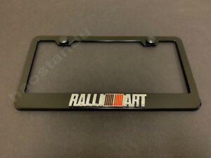 Mitsubishi MIRAGE Stainless Steel License Plate Frame Rust Free W// Caps