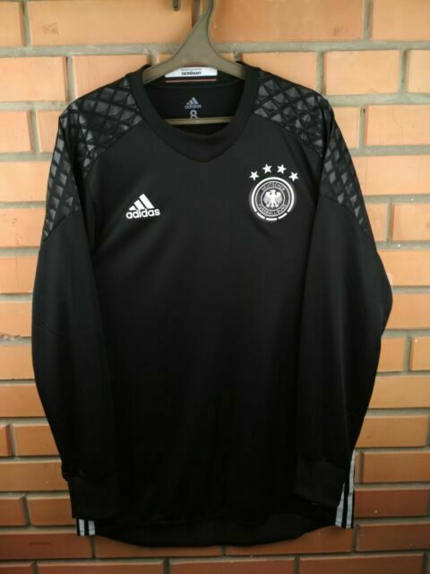 Germany Goalkeeper Player Issue Jersey 2016 M Shirt adidas Soccer ...