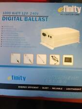 eFinity 1000W Single/Double End Digital Dimmable HPS MH Electronic Ballast