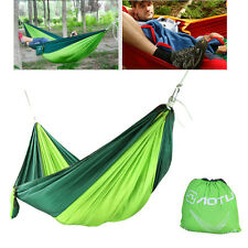 Double Hammock Tree 2 People Person Patio Bed Swing New Nylon Outdoor