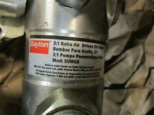 31 Ratio Air Driven Drum Pump 34 Fpt Discharge 37gpm 145psi New