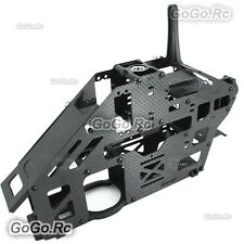 Carbon Fiber Main Frame Set (Torque Tube Version) For Trex 500 Heli - GT500-F002