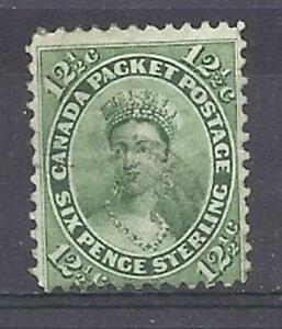 Canada-Scott-18-12-1-2-c-Green-Queen-Victoria-F-used-Cats-80