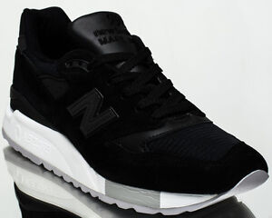 luotettava laatu mistä voin ostaa New York Details about New Balance 998 Made In USA men lifestyle casual sneakers NEW  black M998-NJ