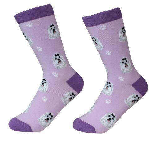 Maltese Socks 200 Needle Count Cotton Socks Soft and Comfortable