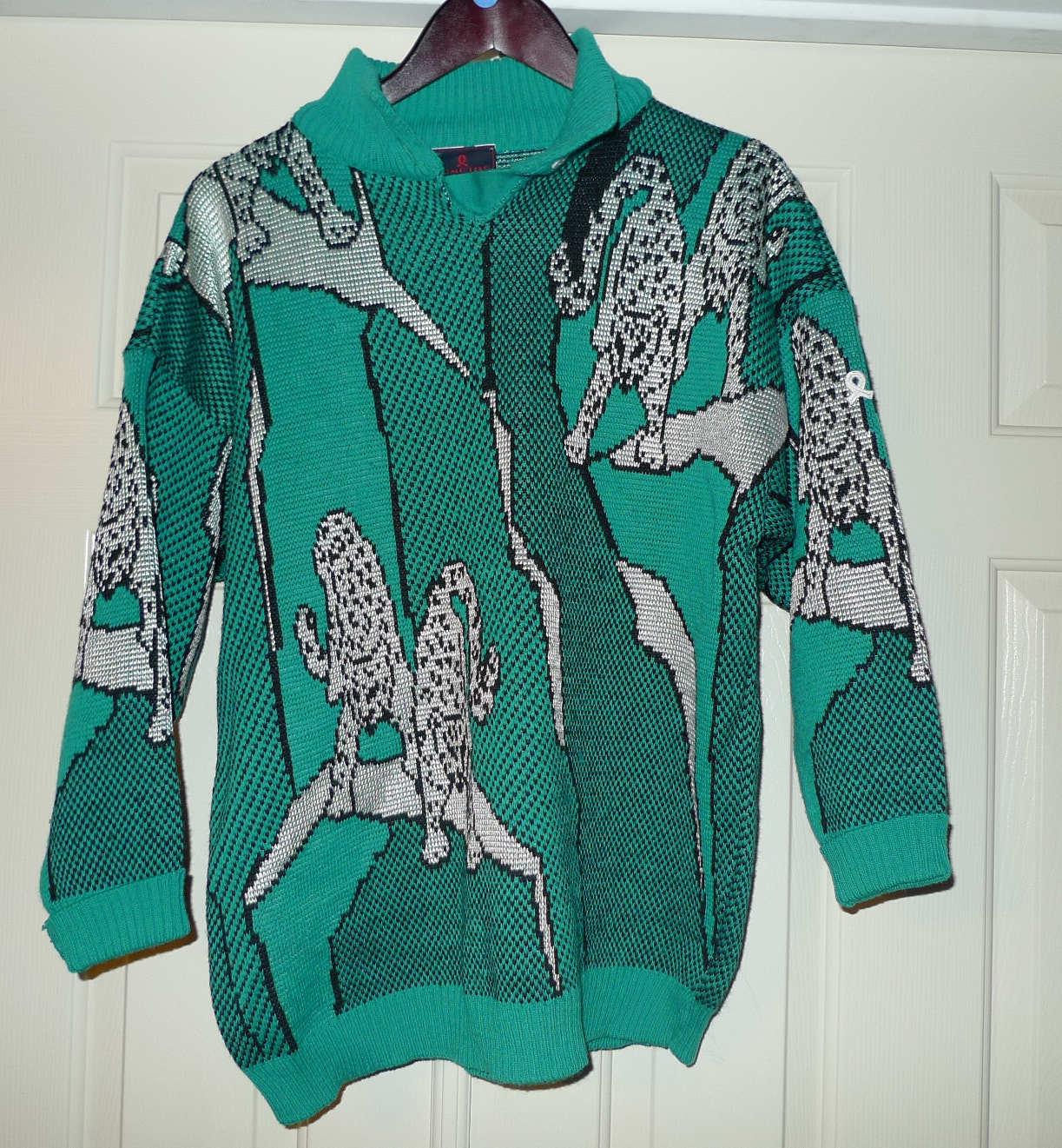 Womens Vintage Vintage Vintage Demetre Medium Sweater colord cb9704