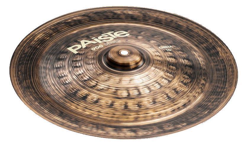 PAISTE 900 Series 16  Cina Bacino Cymbal CuSn 8 2002 Bronzo Drums batteria