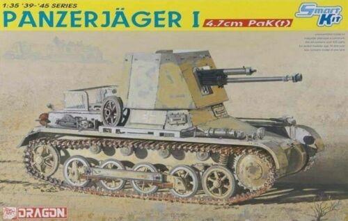 Dragon DN6230 1//35 Panzerjager I 4.7 cm PAK T uk Gratuit Livraison