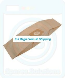 15 x ZR81 Dust Bags for Aquavac Boxer 20 Extra 300 Extra 302 Vacuum Cleaner
