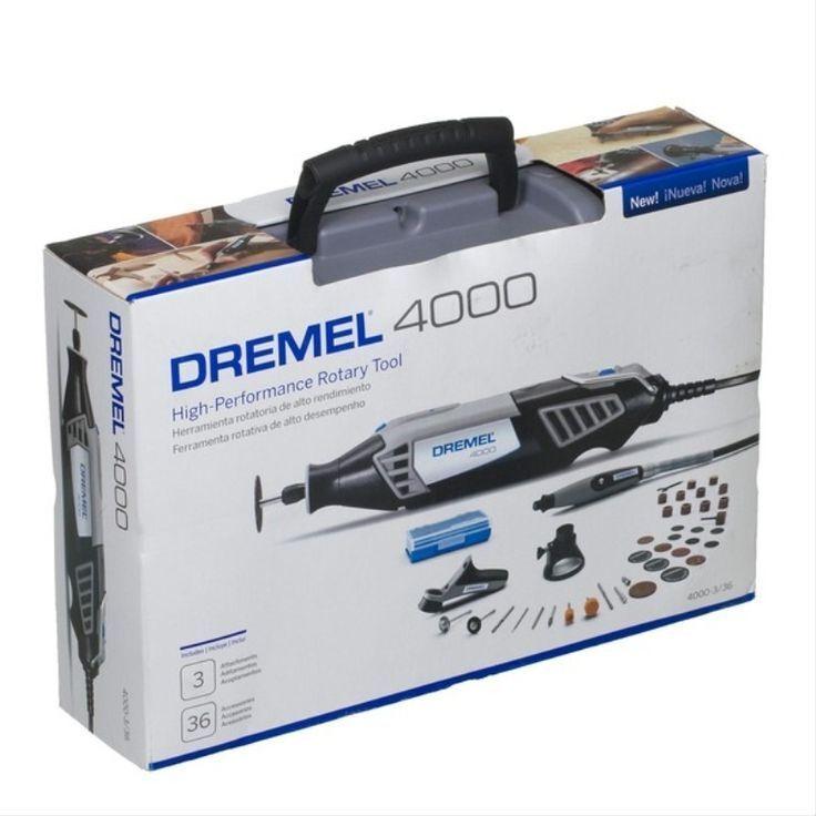 Dremel 4000-4/50 - 240V 175W Variable Speed Speed Speed Rotary Multi Purpose Tool F0134000NJ 3ed420