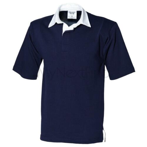 Front Row Short Sleeve Rugby Shirt