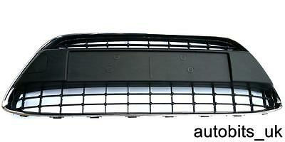FORD FIESTA 2008-2011 08 09 10 11 MK7 BUMPER GRILLE GRILL CENTER  CHROME FRAME