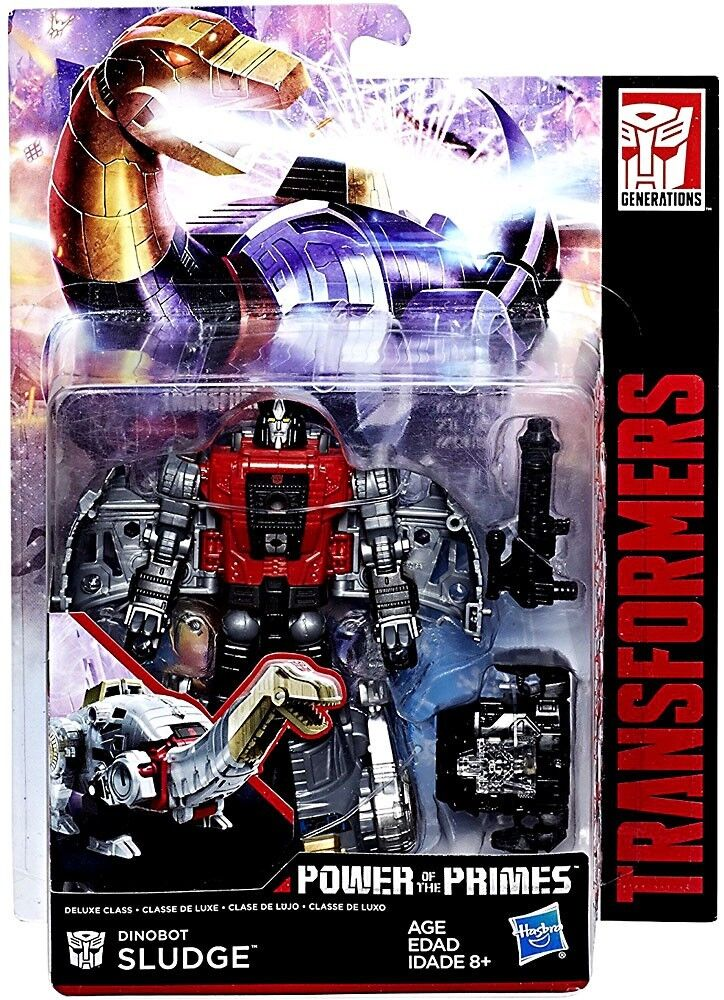 Transformers Generations Power of the Primes Dinobot Sludge Deluxe Action Figure
