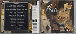 FOLK HERITAGE CD STEELEYE SPAN SANDY DENNY MARTIN CARTHY IAN MATTHEWS ETC
