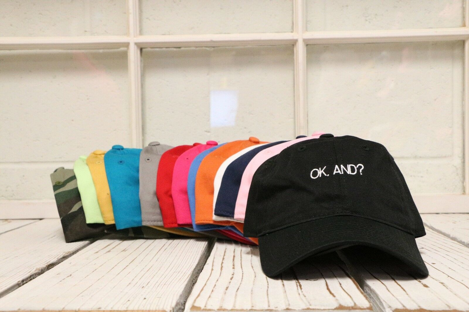 New Ok And? And? And? Baseball Cap Hat Many Colors Available d5ac94