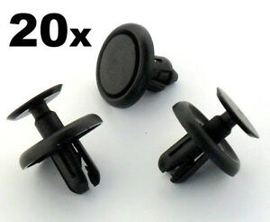 20x-Lexus-amp-Toyota-Plastic-Clips-for-Engine-Bay-Covers-amp-Shields-7mm-Hole