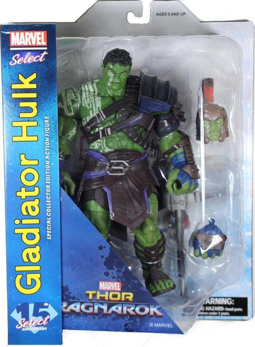 Gladiator Hulk - Thor Ragnarok Marvel Select Action Figure - UK Seller